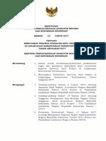 Surat Keputusan MENPANRB Tentang Kebutuhan Pegawai ASN