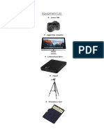 Equipment List (1)