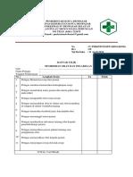 Daftar Tilik Pemberian Obat Dan Pelabelan