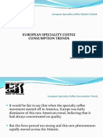 Specialty Coffee Trends in Europe