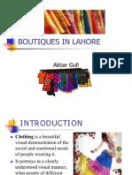botiques in pakistan