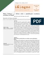 Mário Pedrosa e o Debate Sobre a Planificação Econômica