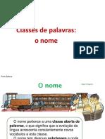 Classes de Palavras Nome