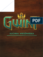 Gwint Kuchnia Wiedźmińska Official / Gwent The Witcher's Kitchen Official