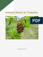 Protocolo General Trementina Agosto 2017