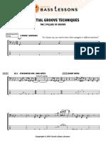 2.Essential Groove Techniques 2 - Full Score