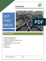 GST Return Monthly Return Filing Process
