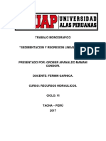 TRABAJO MONOGRAFICO Recursos Hidraulicos
