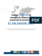 Plan de Eventos El Salvador 2017
