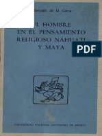 De La Garza Mercedes - El Hombre En El Pensamiento Religioso Nahuatl Y Maya.pdf