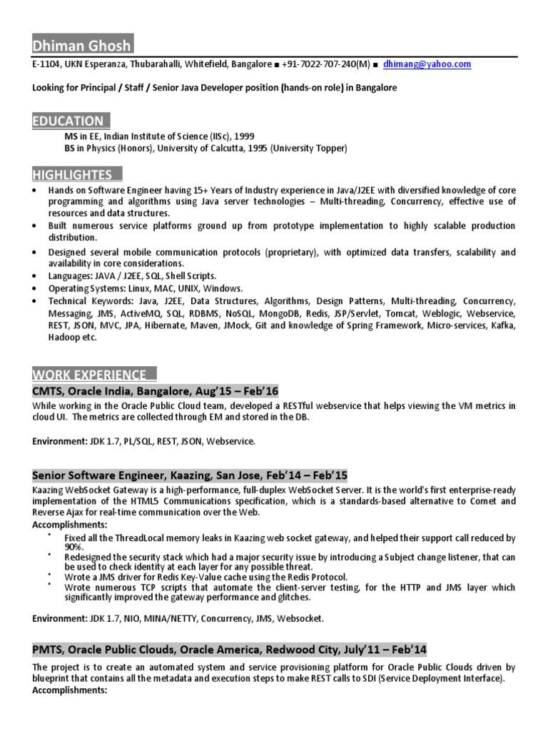 Dhiman Ghosh _IMM pdf | Java Platform | Instant Messaging