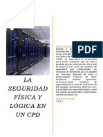 Seguridad Física y Lógica en Un CPD