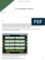 Controlar 8 Relays Con Visual Basic y Arduino