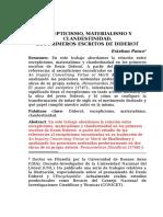Escepticismo, Materialismo y Clandestinidad. Los Primeros Escritos de Diderot. Esteban Ponce