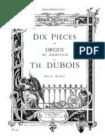 Dubois - Dix Pieces pour orgue.pdf