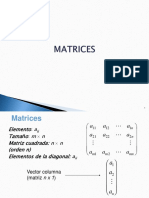 Matrices matematicas