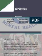 Neurosis Psikosis