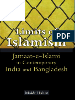 Limits of Islamism -- Jamaat-e-Islami in Contemporary India and Bangladesh