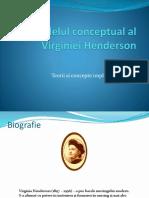 Modelul Conceptual Al Virginiei Henderson.pps