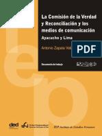 La Comision de La Verdad y La Reconciliacion y Los Medios de Comunicacion