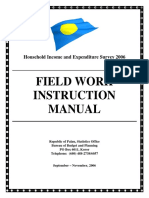 Field Work Instruction Manual