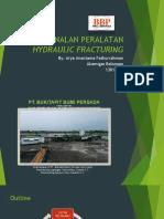 Pengenalan Peralatan Hydraulic Fracturing