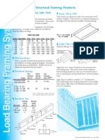 Structural Framing Accessory Products Data Sheet