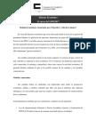 Informe Económico de la Cámara de Comercio de Maracaibo