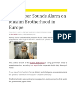Muslim Brotherhood Deep Roots in Europe