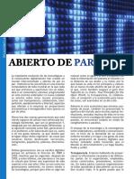 Abierto de Par en Par - JULIO 2017 - AEDIPE