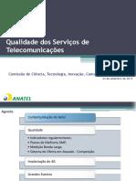 Qualidade Dos Servicos de Telecomunicacão