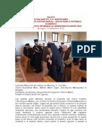 Χαιρετισμός του Οικουμενικού Πατριάρχου στο Monastero Di Monte Sole της  Μπολόνια