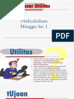 Ars.1. Dasar Utilitas