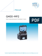 G400-MP2 Operarion Manual