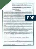 Resolucion 8090 del 2017 - Centro de Formación Minero Ambiental