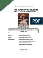Monografia Programa-educativo en Salud