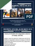 Decreto Número 1072 de 2015 Decreto Único Reglamentario Del Sector Trabajo