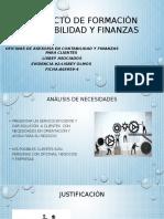 Proyecto de Formación Contabilidad y Finanzas