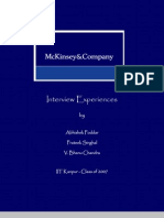 mckinsey case study interview prep There are many resources to help you prepare for a case interview these books can be found in the cornell career services career library in 103 mckinsey case.