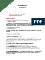 CIÊNCIA POLÍTICA revisão
