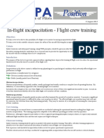 14POS06 - In-flight Incapacitation - Flight Crew Training