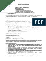 Plan de Trabajo de Hf Web