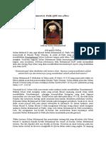 Biografi Sultan Muhammad Alfatih