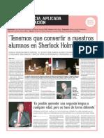 Resumen congreso nacional de neuroeducacion España