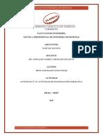 ACTIVIDAD N° 02 ACTIVIDAD DE INVESTIGACIÓN FORMATIVA