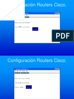 Configuración Routers Cisco Switching y VLAN