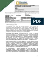 Taller de Investigación I - Gestión Humana y Análisis Organizacional