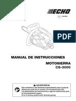 Manual CS-3000