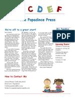 newsletter 9-15-17