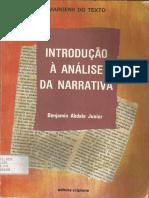 ABDALA JR Introdução à Análise Da Narrativa 1 Ed 1995